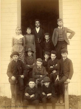 Group of Children, possibly Craigflower School