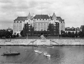 Empress Hotel from the Harbour