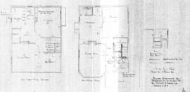 Proposed alterations to residence at 417 Dunedin St, for Stewart & Hudson Ltd, Victoria, B.C.