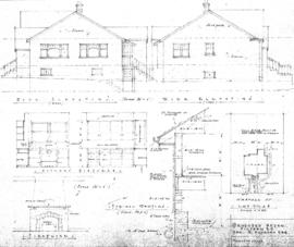 Proposed house, Victoria, B.C., for S. Hancock Esq.