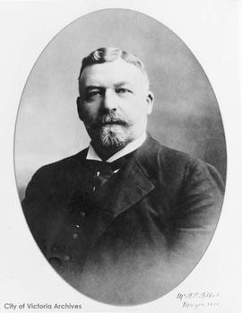 Robert P. Rithet, Mayor 1885