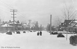 Superior Street during the 'Great Snow'