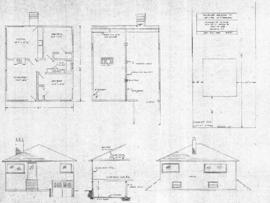 Proposed residence of Mr. & Mr. Koellmel, northern 50' of Lot 6, Blk. No. 17, Section 4,...