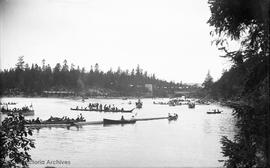 Boats on the Gorge Waterway