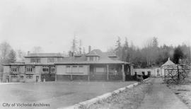 """Benvenuto"", Mr. and Mrs. Robert P. Butchart residence, now part of Butchart Gardens"