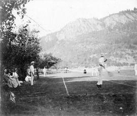 Lawn tennis at Cowichan Bay Tennis Club