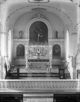 Interior of St. Ann's Academy Chapel