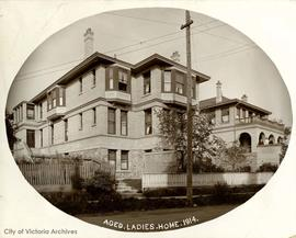 Rose Manor (also known as the Aged and Infirm Woman's Home) Fairfield Road view