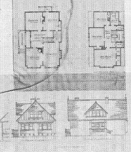 [Two-storey house]