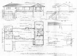 Proposed residence for Mr. Campbell, Richmond Road, Victoria, B.C.