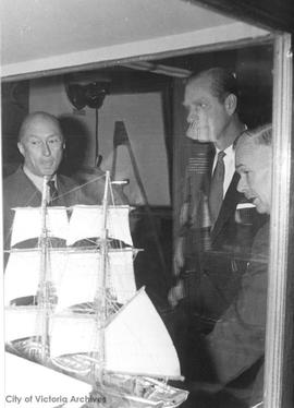 Prince Philip at Maritime Museum