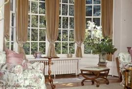 "Dr. Israel W. Powell family residence at 906 Vancouver Street known as ""Oakdene"", drawing room window"