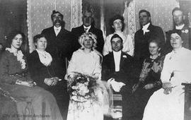 Fanny Whyte and John H. Renfree wedding