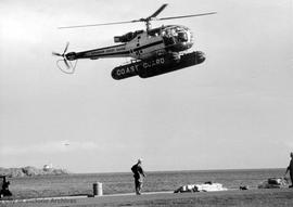 Coast Guard rescue exercises : Clover Point, Trial Island