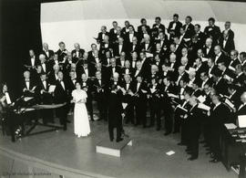 Soprano Ingrid Suderman performs with the Arion Choir