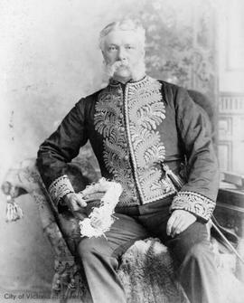 Lieutenant Governor Edgar Dewdney