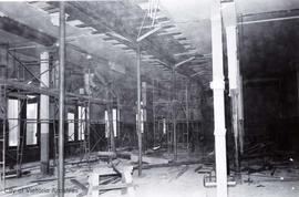 1 Centennial Square. Council chamber in City Hall during renovations at the time of Centennial Sq...