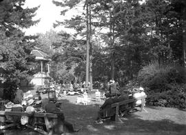 Concert at the bandstand, Beacon Hill Park