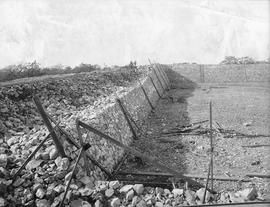 Construction of the Smith Hill Reservoir, Oct 25, 1908