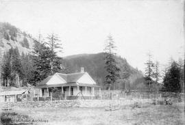 Bradley-Dyne's house at East Point, Saturna Island, British Columbia