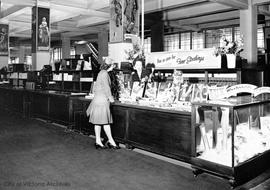 Lux stocking display at the General Warehouse Ltd., 1110 Government Street