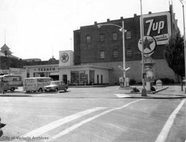 1725 Government Street. Texaco gas station