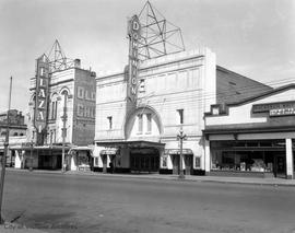 Dominion and Plaza theatres, Yates Street