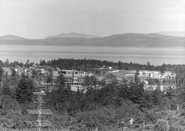 University of Victoria from Mt. Tolmie