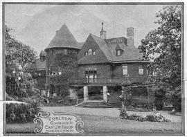 """Robleda"", 1337 Rockland Avenue. Capt. Troup residence"