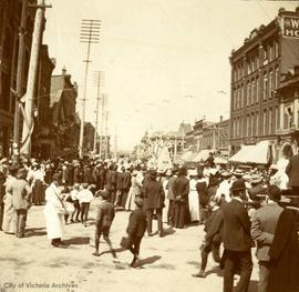 Victoria Day Parade. Yates at Douglas Street