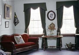 Dr. John Sebastian Helmcken family home at 638 Elliot Street, living room