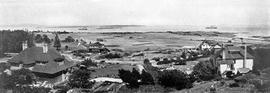 View over Oak Bay and golf links