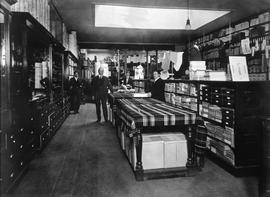 W. & J. Wilson store on Government Street, interior