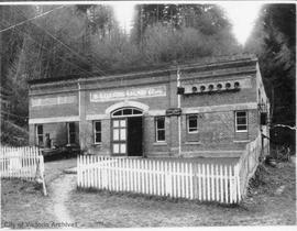 Goldstream powerhouse - the first hydro-electric power development in the Victoria area