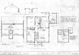 Wartime Housing Limited : Victoria, B.C. plans : house type H12