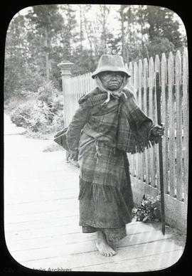First Nations woman in Victoria West