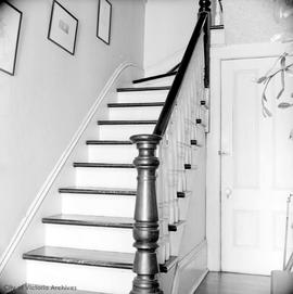 Miss A.E. Innes home at 1564 Rockland Avenue, staircase