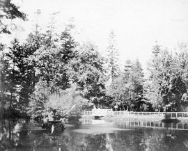 Beacon Hill Park, Fountain Lake