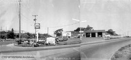 100 Esquimalt Road. Shell gas station