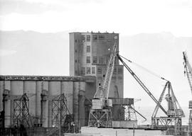 Telephoto of Victoria Grain Elevator at Ogden Point