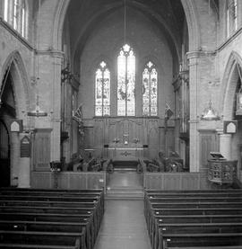 St. John's Church, 1611 Quadra Street, interior