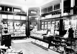 United Cigar - Vancouver Drug Co., Douglas Street, interior