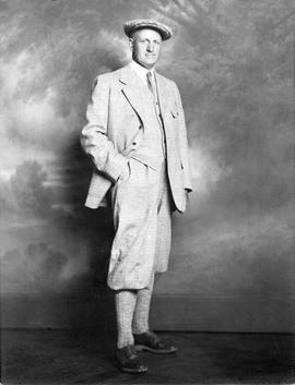 Thomas Shanks McPherson in plus fours