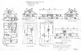 Residence to be erected for A.P. Moffatt Esq., Victoria, B.C.