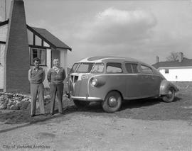 HB Oldfield and JH Norton's Dimaxion car