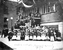 Formal opening of the Chinese Public School, 636 Fisgard Street