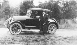 Dr. Tomlin with his Baby Grand Chevrolet