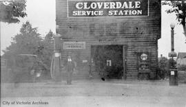 Cloverdale gas station