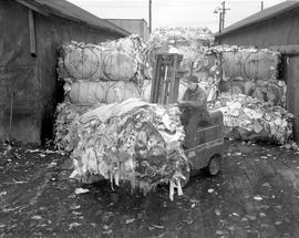 War effort, bundles of rags