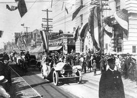 Empire Day parade, Government Street. 24 May 1911